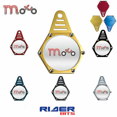 Motorbike Hexagon Tax Disk Holder Gold Waterrproof Quad Bike Universal Fit