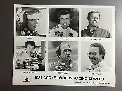 1981 Porsche 935 Coooke-Woods Racing Driver's B&W Press Photo RARE!! Awesome