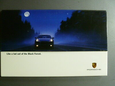"2002 Porsche Cayenne ""Like a Bat.."" Advertising Sales Brochure RARE Awesome L@@K"