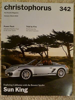 Porsche Christophorus Magazine English #342 February / March 2010 Awesome L@@K