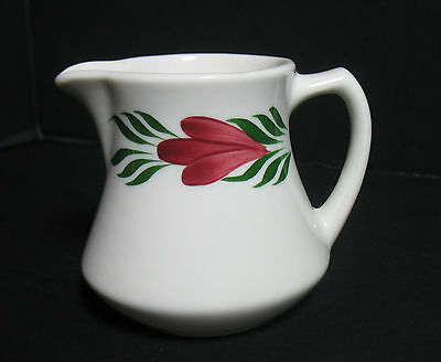 Vintage Syracuse China Restaurant Wear CHANTILLY Large Pitcher Syrup Creamer