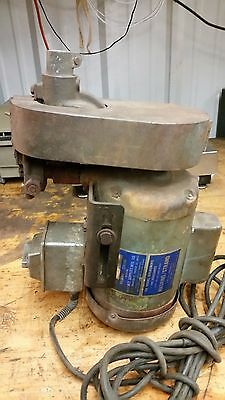 Heavy Duty Flex Shaft Machine powerhead only 3/4hp baldor