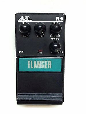 Aria FL-5, Flanger, Made In Japan, 1985-late 80's, Guitar Effect Pedal