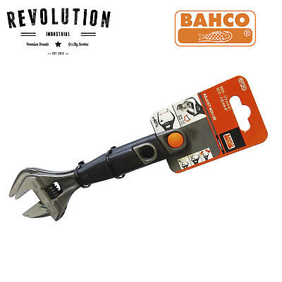 "Bahco Ergo 2Pc Wide Jaw Adjustable Wrench Set 6"" 9029, 8"" 9031 - Adjust 9031/29"