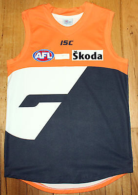 Greater Western Sydney Giants Production Prototype Player Issue Guernsey 2XL