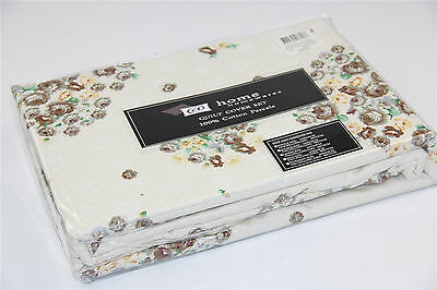All Size 100% Cotton 420tc Reversible Quilt Duvet Doona Cover 3 Pcs Set Madison