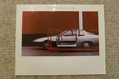 1980 Porsche 924 Coupe Showroom Advertising Poster RARE!! Awesome L@@K