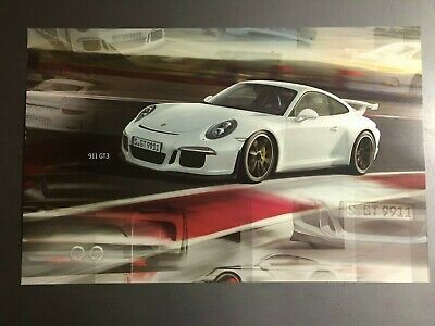 2013 / 2014 Porsche 911 GT3 Cup Coupe Showroom Advertising Poster RARE!! Awesome