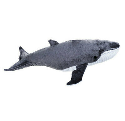 "Humpback Whale soft plush toy 16""/40cm National Geographic by Lelly NEW"