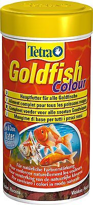TETRA GOLDFISH COLOUR FLAKES 250 ML MANGIME PESCI ROSSI cod. 83001352