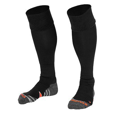 Black Socks - Stanno Football Socks Rugby Hockey Gym - Kids And Adults