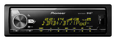 autoradio Pioneer MVH-X580DAB BLUETOOTH MP3 USB AUX-IN illuminazione VARIOCOLOR