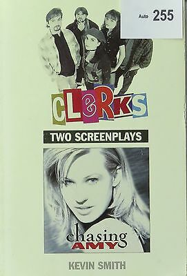 Kevin Smith Screenplays Clerks & Chasing Amy, Signed Softcover Book Cult Classic