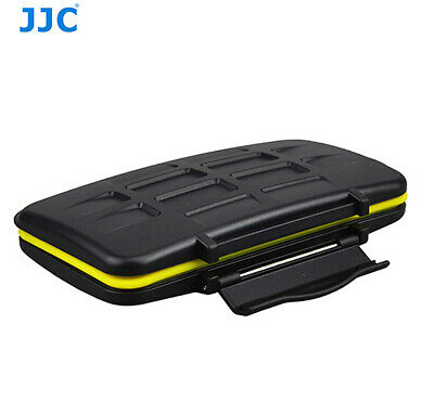 JJC Anti-shock Memory Card Case for 6  x SD 3 x CF Compact Flash Card US Seller