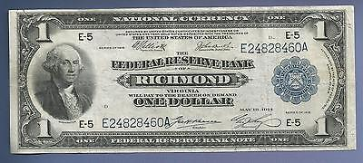 CC&C $1 1918 - Federal Reserve Bank Note - RICHMOND - AFFORDABLE - SHIPS FREE!