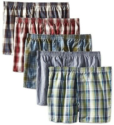 Fruit of the Loom Men's Boxers LOW RISE 5 or 10 pack 2XL (46-48), 3XL (50-52)