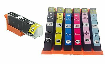 7 Pk Non-Oem Ink Epson T277Xl 277Xl Expression Xp-850 Xp-860 Xp-950 Series