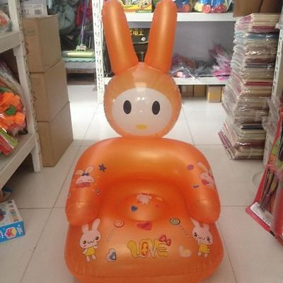 Safety Kids PVC Inflatable Sofa Children Cartoon Funny Couch Animal Seat Chair