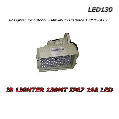 Illuminatore Infrarosso - 130mt IR Lamp IP67  - LED130