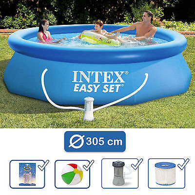 Piscine autoportante INTEX Easy Set Pool ronde 3,05m x 0,76m avec épurateur
