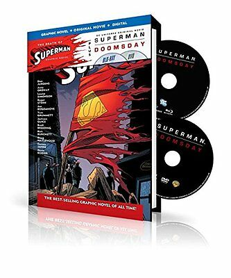 Superman Doomsday: With Death of Superman Graphic Novel (BD+DVD+UV) 2007