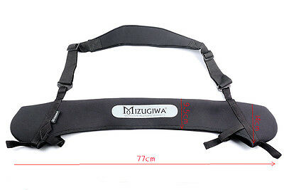 Mizugiwa Neoprene Bow Sling Easy for Hog, Deer, Turkey, Buffalo Hunting 77x14cm
