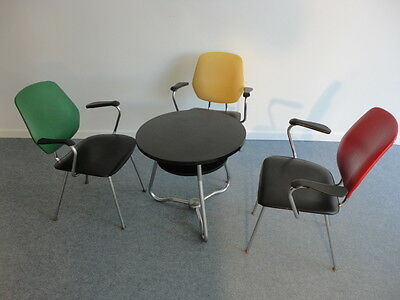 Drabert West Germany  50's chairs & table   **** RARE **** • £330.00