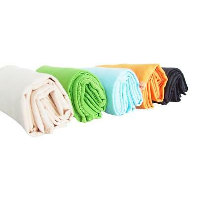 Portable Tri Fold Soft Golf Towel w/ Hanging Hook Outdoor Sports Towel 40*65cm