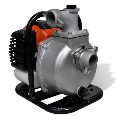 New Petrol Powered Water Pump 2 Stroke 1.25 kW 1.3 L Water Draining Irrigation