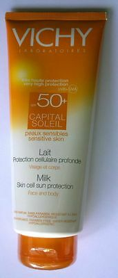 Vichy Lait Solaire Visage & Corps Tres Haute Protection 50+ Spf 300 Ml Neuf