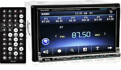 "Boss BV9759BD 2-DIN In-Dash Bluetooth DVD Car Stereo Receiver 7"" Touchscreen LCD"