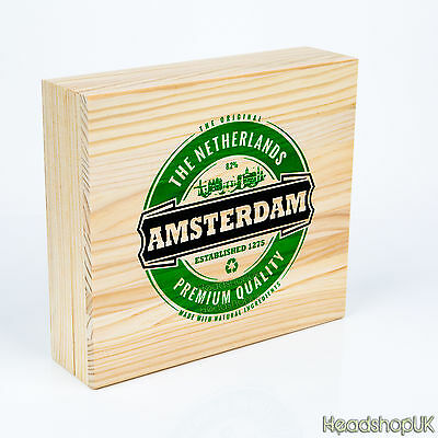 Rolling Box with Rolling Tray & Magnetic Closure | Amsterdam Brand