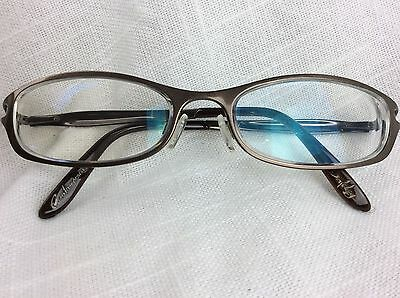 Oakley Controverial Polished Chocolate Eyeglasses Frames Copper Metal 52-17 132