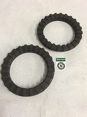 Bearmach Land Rover Discovery 1 & 2 Rear Coil Spring Isolator Rings ANR2938R x2