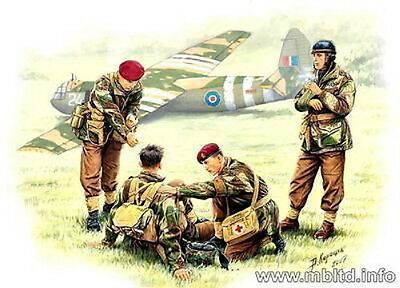 Master Box 1/35 Scale Plastic Model Kit British Paratroopers Mb3534