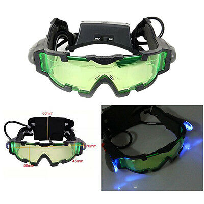 Military Night Vision Goggles Glasses Security Eyeshield Adjustable Elastic Band