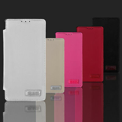 For Sony Xperia Z1S C6916 PU Leather Wallet Pouch Flip TPU Stand Card Case Cover