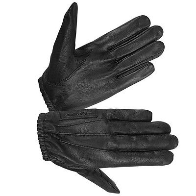 HUGGER Unlined Police Style Search Driving Gloves Men's Leather