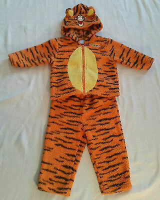 Tigger Costume PJs 18 Month Child's Toddler Disney Winnie The Pooh 2 Piece Set