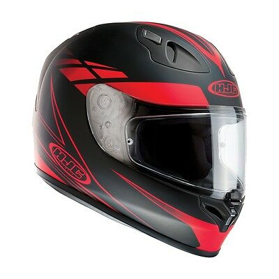 HJC FG-17 Force Red Motorcycle Helmet ***Now Only £85.00***