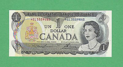 1973 Bank of Canada - $1 Replacement Bank Note - Lawson Bouey *GL 3559445
