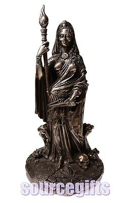 New * Hecate * Goddess Wicca Statue Ornament From Nemesis Now With Free Post