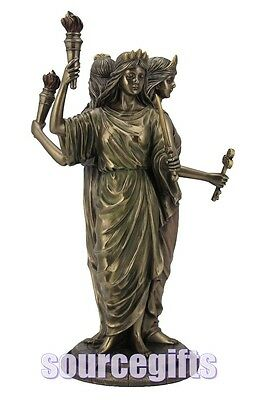 New * Hecate * Goddess Wicca Large Statue Figurine Ornament  Nemesis Now G1521