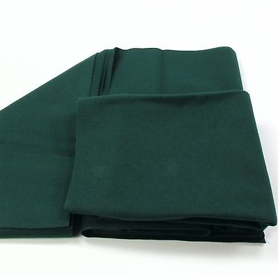 CLEARANCE! Hainsworth SMART Bed & Cushion for 6ft UK Pool Table – RANGER GREEN