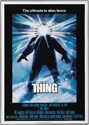 The Thing Vintage Movie Poster Art Print - A0, A1, A2, A3, A4 Sizes