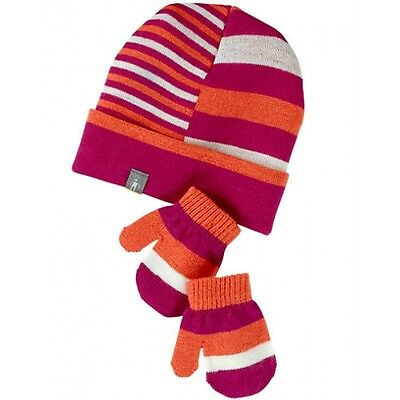 Smartwool Childrens Hat & Mittens set, Merino Wool