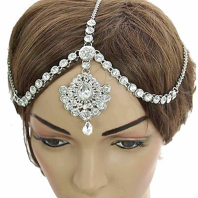 HeadPiece Matha Patti Grecian Boho Head Chain Indian Wedding/Bridal Headdress