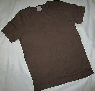 Old Navy T-shirt Stretch Brown Solid Top 100% Cotton Sz M to XL