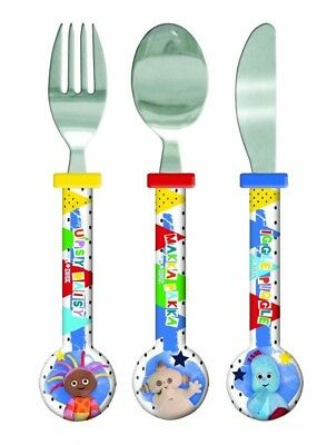 Spearmark DHX ITNG In The Night Garden New Pattern Stars Round Cutlery age 3 - 4