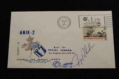 Scps Space Cover 1973 Pictorial Cancel Anik-2 Canadian Comsat Launch (1660)